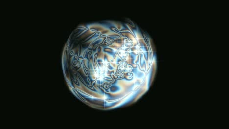 Abstract-Swirling-Sphere