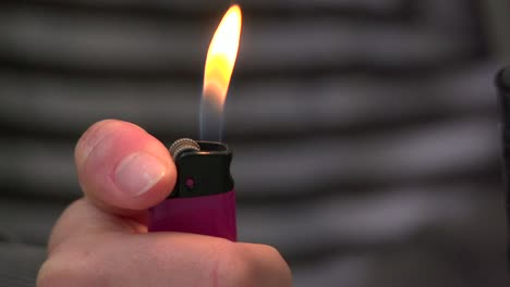 Lighter-Being-Lit