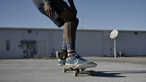 Skateboarder-Skating-Fast