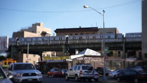 Subway-Train-Passes-Brooklyn