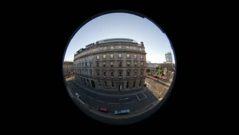 Fisheye-Timelapse-of-Building