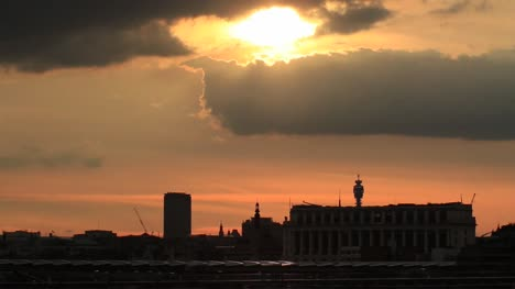 London-Skyline-at-Sunset