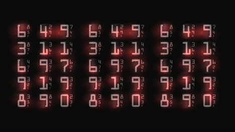 Abstract-Numbers-Background