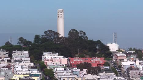 Coit-Tower-City-Scape