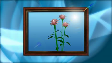 Flowers-In-a-Frame