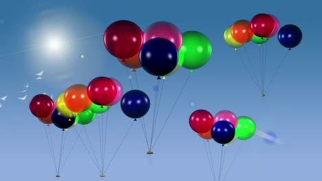 Balloons-in-the-Sky-