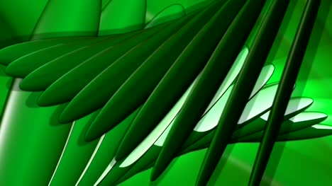 Abstract-Green-Leaf-Shapes