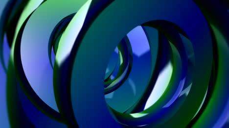 3D-Blue-Rings-Spinning