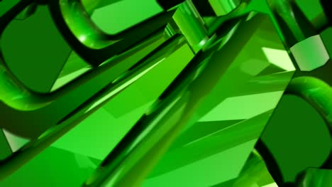 Green-3D-Shapes-Spinning