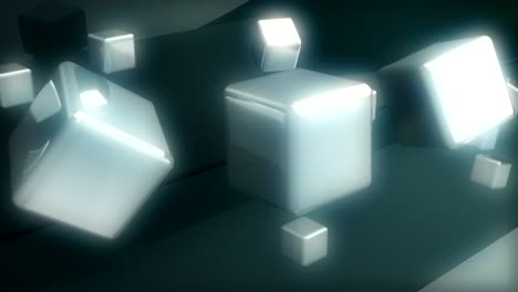 Floating-Cubes-Motion-Background