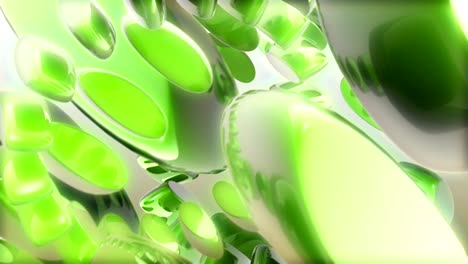 Abstract-Green-Shapes-Rotating