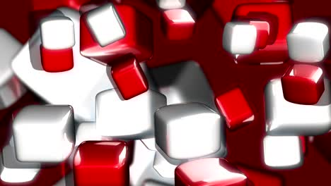Red-and-White-Blocks-3D-Motion-Background