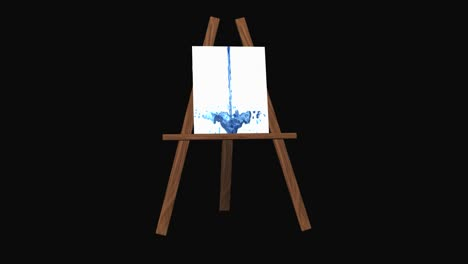 Easel-With-Falling-Liquid