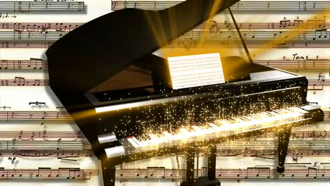 Sparkling-Piano-Motion-Background