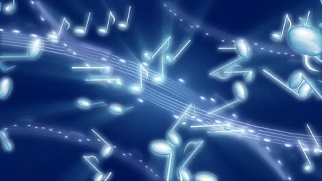 Musical-Notes-Abstract-Motion-Background