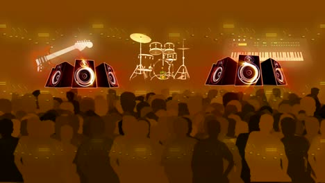 Band-Audience-Motion-Background