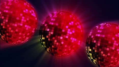 Red-Disco-Balls