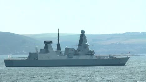 British-Navy-Daring-Class-Destroyer-Warship