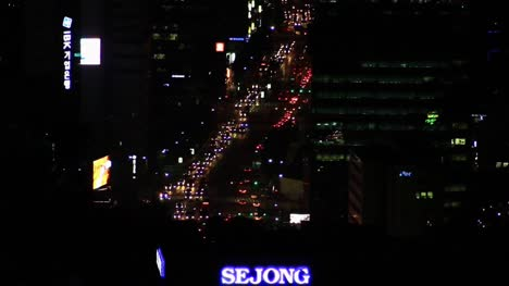 Seoul-South-Korea-Roads-at-Night-2