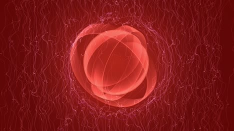 Abstract-Red-VJ-Loop