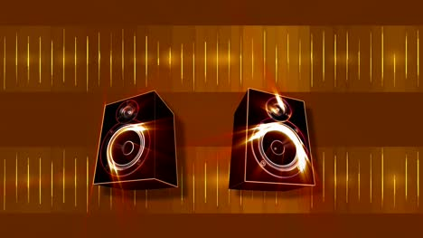 Animated-Subwoofers-Bassing-Gold