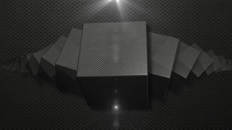 Rotating-3D-Metal-Cubes-Background-Loop