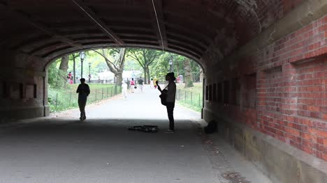 Busking-Under-Bridge