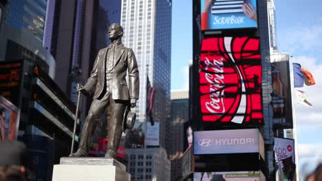 George-M-Cohan-Statue-NY