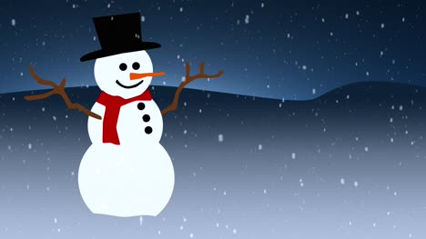 Looping-Snowman-Background-1