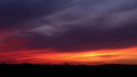 Sunset-Over-Farmland-Timelapse