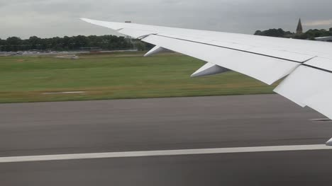 Airplane-Take-Off-Wing-Shot