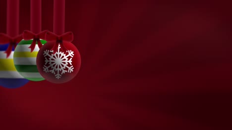 Baubles-Red-Background-Loop