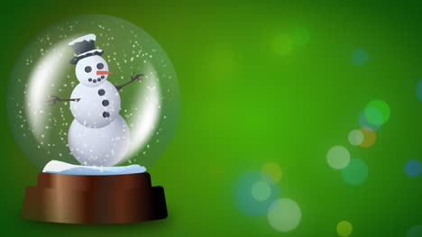 Snowglobe-Green-Loop