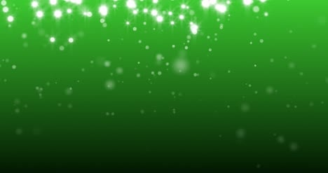 4K-Green-and-White-Sparkles-Loop