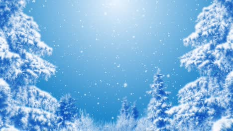 Blue-Winter-Background