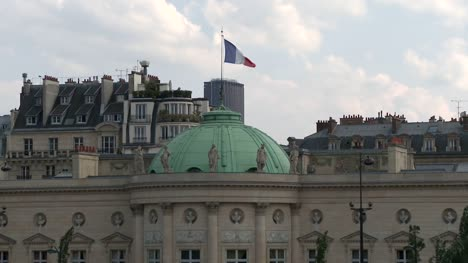 French-Flag-atop-the-Musee-National