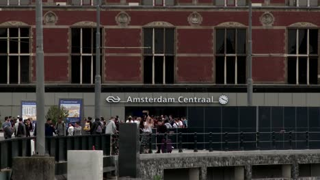 Amsterdam-Central-Railway-Station