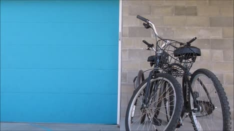 Two-Bikes-Against-Wall