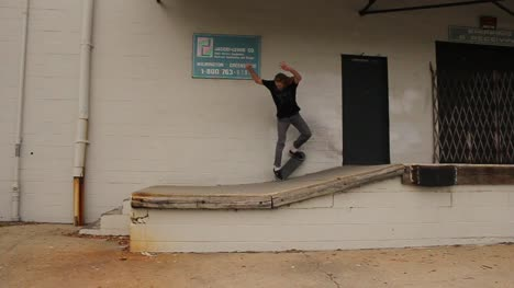 Skateboarder-on-Loading-Dock