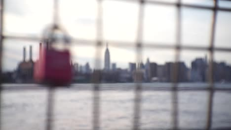 Love-Lock-Rack-Focus-to-NYC-Cityscape