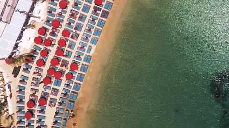 Aerial-View-of-Hotel-Resort-Beach