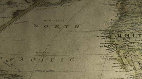 Vintage-Map-Pan-Across-to-North-Pacific-Ocean