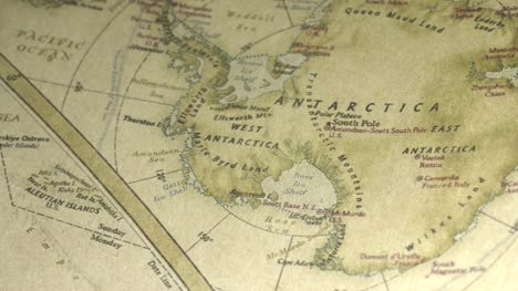 Pan-Across-to-Antarctica-on-a-Vintage-Map