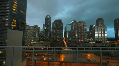 High-Rise-Chicago-at-Dusk
