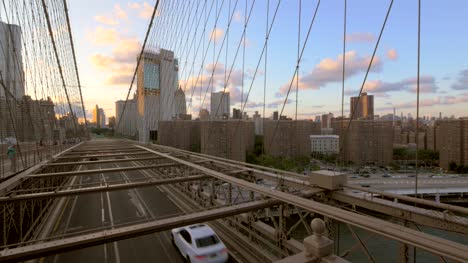 Sunset-from-Brooklyn-Bridge-New-York