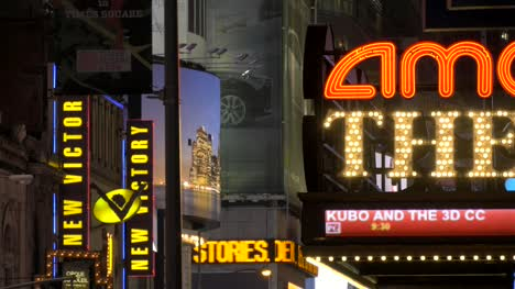 Signs-in-Times-Square-at-Night