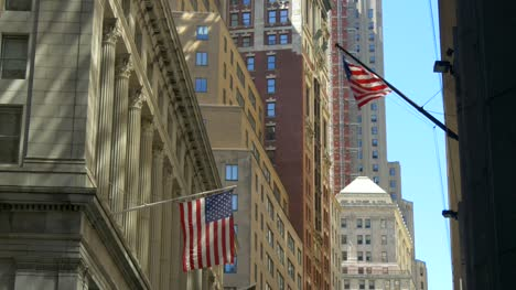 USA-Flags-Flying-on-Wall-Street