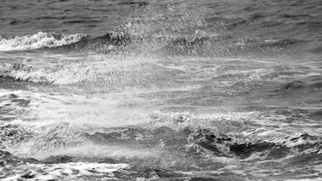 Waves-Crashing-in-Slow-Motion-Grayscale