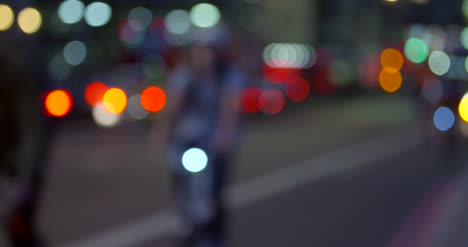 London-Night-Traffic-Bokeh