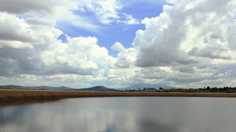 Clouds-Over-Lake-Timelapse
